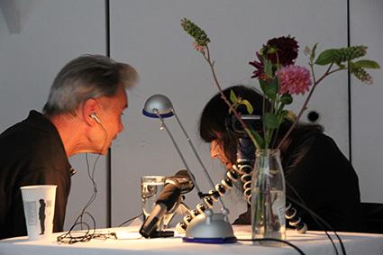 H.Hostnig im Gespräch mit F.Mayröcker