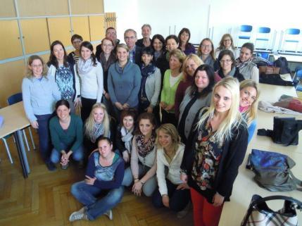 Foto Gruppe Seminarreihe DaZ Leoben April 2015